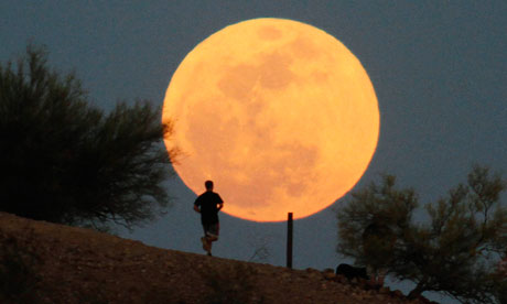 supermoon in Phoenix