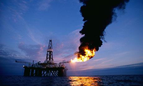 Oil Exploration Platform