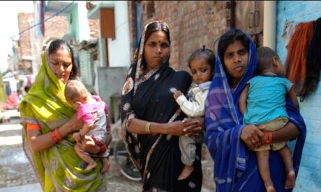 Women in Bawana, Delhi