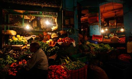 Indian street vendors