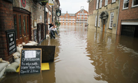Major Flooding Affects Northern England