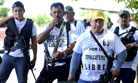 Mexico militias take on drug cartels