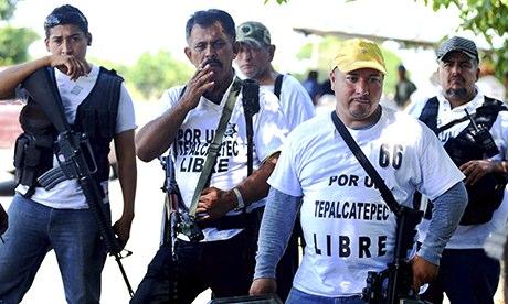 Mexico militias take on drug cartels