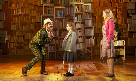 Matilda the Musical is previewing on Broadway