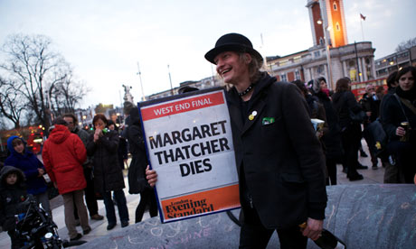 Thatcher party brixton
