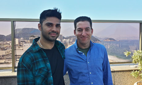 Glenn Greenwald and his partner David Miranda