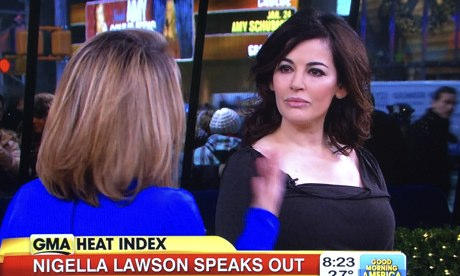 Nigella Lawson On Good Morning America