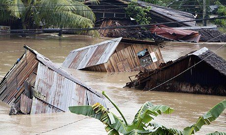 Philippines storm Agaton in Butuan city