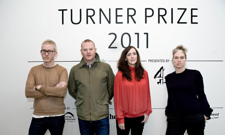 Turner prize 2011 nominees