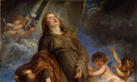 Van Dyck's Saint Rosalie interceding for the Plague-stricken of Palermo, 1624