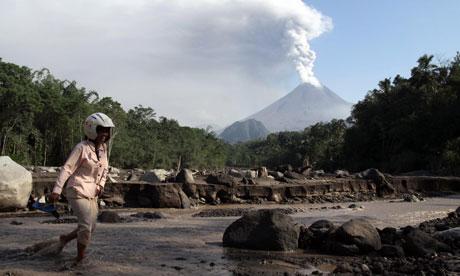 Mount Merapi eruption