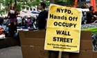 Occupy Wall Street: legal observers give protesters advice - video