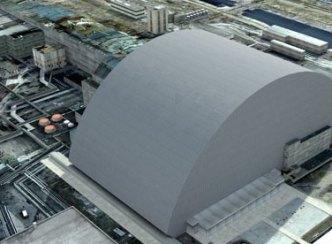 New 'safe' confinement over Chernobyl reactor