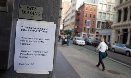 Etan Patz case: a note to the media signed by Stan Patz, Etan's father