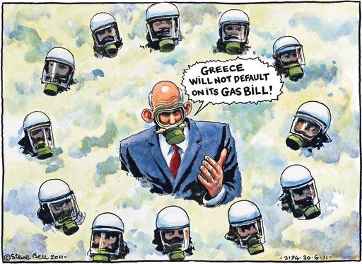 Steve Bell cartoon 30.06.2011