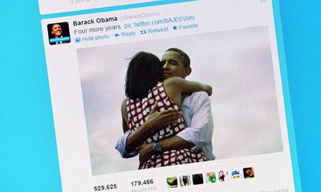Barack and Michelle Obama hug photo
