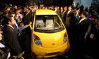 The Tata nano, the world's cheapest car