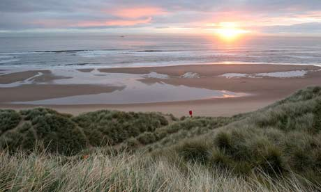 Balmedie country park Scotland