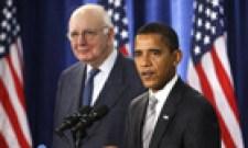 Barack Obama and Paul Volcker