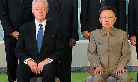 You can see Clinton is thinking, Get me the hell outta here...
