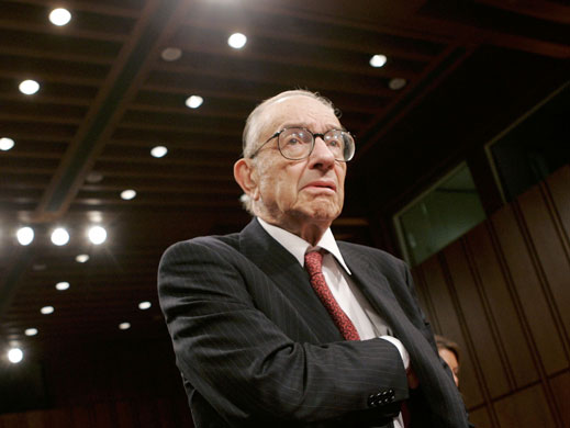 Gallery Twenty-five people: Alan Greenspan