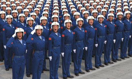 China's 60th anniversary parade