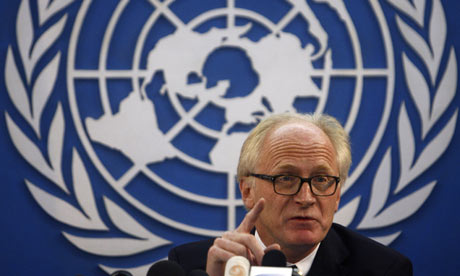 The UN special envoy to Afghanistan Kai Eide admitted widespread election fraud