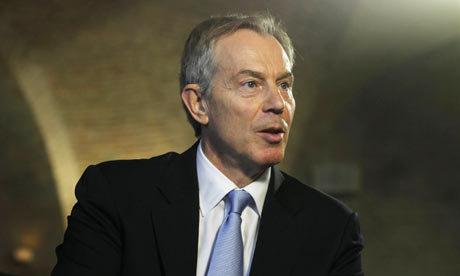 Tony Blair in Copenhagen