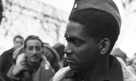 African-American soldier in Spanish civil war