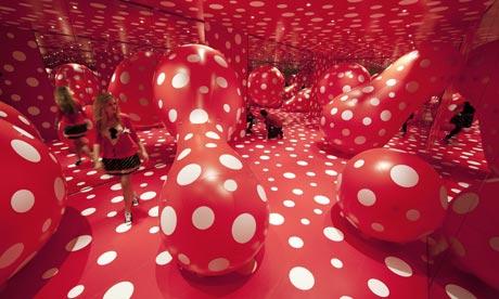 'Walking in My Mind' exhibition by Yayoi Kusama