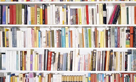Guardian Pix 2009, Shelves full of books