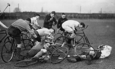 Bike Blog: Bicycle Polo, cycle polo at Eastleigh, near Southampton