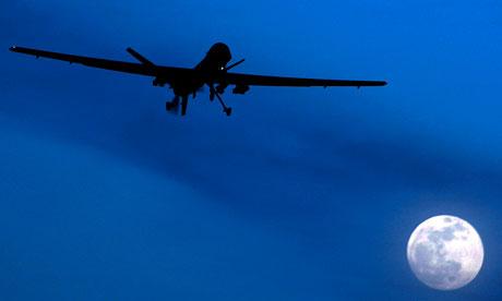US drone near Pakistan