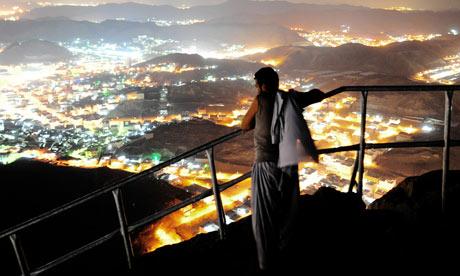 A Muslim pilgrim looks at Mecca