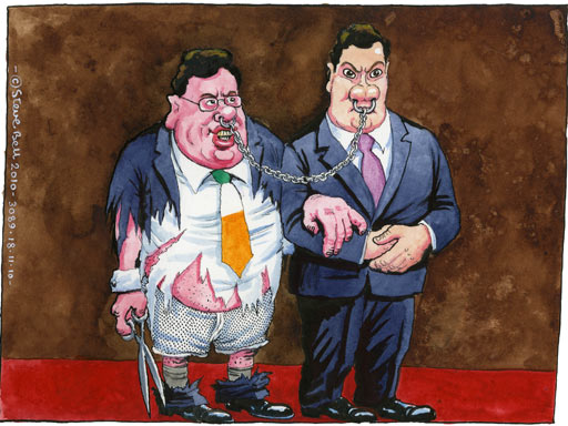 18.11.10: Steve Bell on Ireland's debt crisis