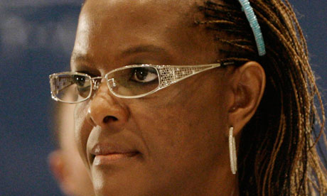 First lady of Zimbabwe Grace Mugabe