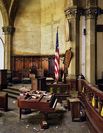 Ruins of Detroit: Woodward Avenue Presbyterian Church