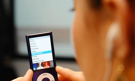 An iPod.