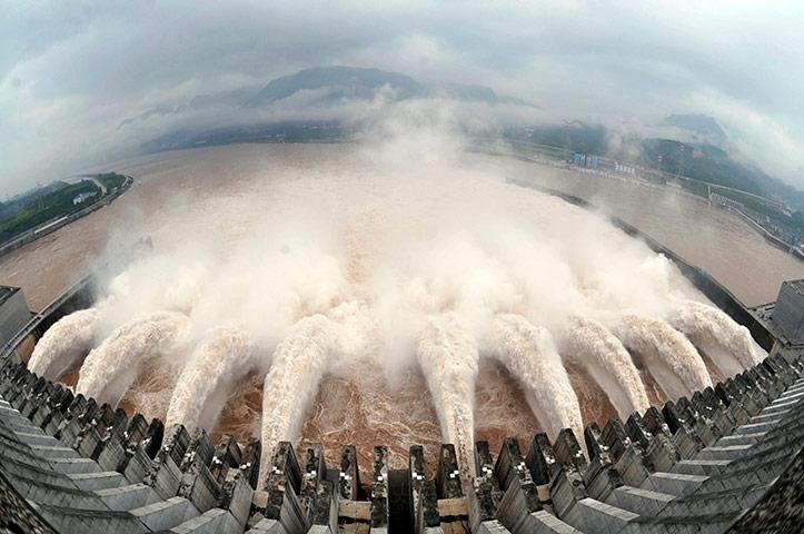 El mayor complejo hidroeléctrico del mundo.