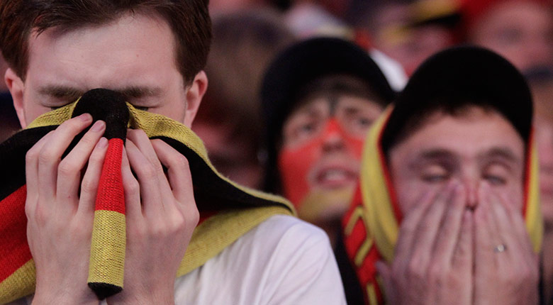 footy: Soccer fans react