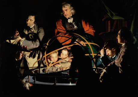 The Orrery by Joseph Wright of Derby. 'Few of us know how to prove that the Earth orbits the Sun.' Photograph: The Gallery Collection/Corbis
