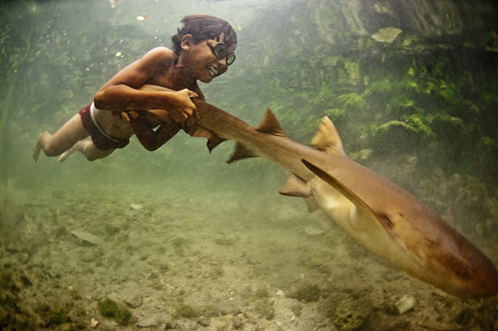 Sea Nomads:  Bajau ethnic group, a Malay people who have lived at sea for centuries