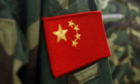 Chinese People's Liberation Army troops