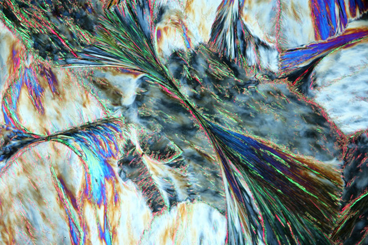 Bike blog: Crystals of stearic acid