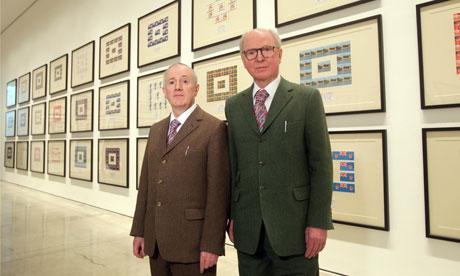 Gilbert and George Urethra Postcard Art