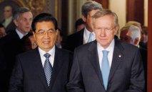 China's president Hu Jintao