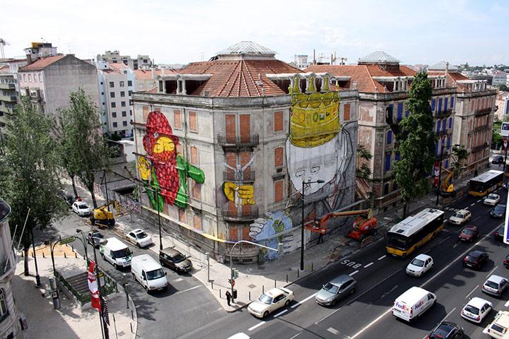 Lisbon graffiti: Lisbon 6