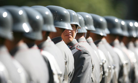 Chilean military draft young people