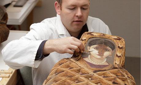 Ashmolean museum mummy portraits