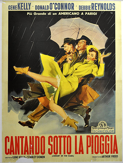 Film Poster Exhibition: Singin' in the Rain poster